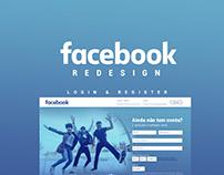 Project Facebook Login/Register Redesign