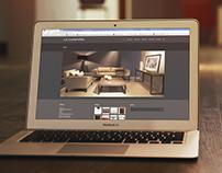 Web Design for Industrial Design Brand