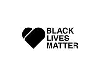 Visual identity concept Black Lives Matter