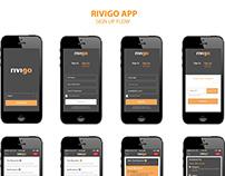 Rivigo App Design