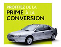 Emailing Citroën Métin