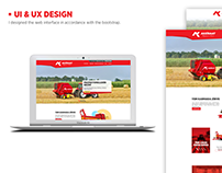 AK Ziraat Corporate Identity and UI&UX Design