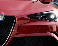 Alfa Romeo Giulia - Full CGI & Retouching