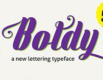 Boldy typeface