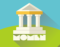Momen : Monumen and Museum - Mobile Apps Design