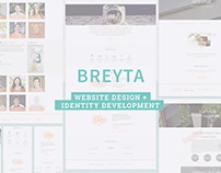 Breyta Website Design