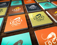Local seafood logo/identity