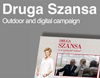 Outdoor & digital campaign // Druga Szansa TVN