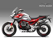 MOTO GUZZI V85 NTX CONCEPT