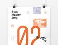 "Poster ""Beatmaster Jøre"""