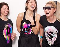 TINIMARTINI / T-shirt print design / T-AMS, 2010