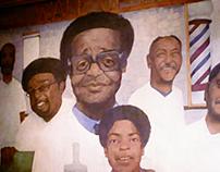 Barbershop Mural
