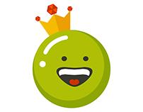 King Pea Ilustrace