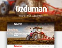 Özduman Responsive Web Site