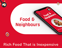 Food & Neighbors - Food App