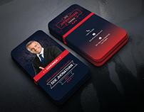 Political Business Card