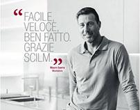 ADV per Scilm Srl | Ritratti di veri montatori.