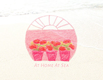 At Home At Sea - Surface print