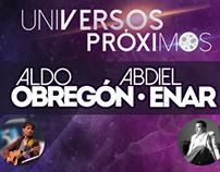 Pósters conciertos Abdiel Enar.
