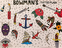 My Tattoo Flash Designs