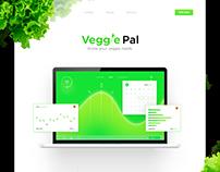 Veggie Pal Landing Page