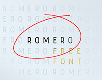 Romero Regular - Free Font