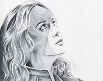 Captain Marvel Sketch Cover