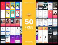 Free iOS App UI Kit