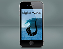Digital Wave Graphic Designs