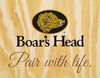 Boar's Head Print Campaign