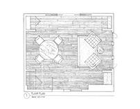 Hand Drafting Floor Plan & Elevation