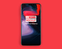 OnePlus 6 Android Phone Mockup - Free