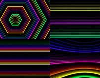 Colorful Neon - VJ Loop Pack (4in1)