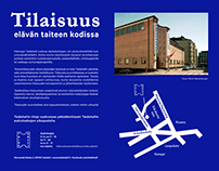 Brochure for Kunsthalle Helsinki, 2015