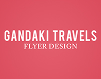 Gandaki Travels - Graphic Design