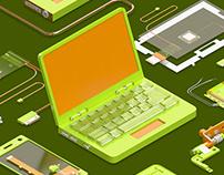Интернет-магазин комплектующих и запчастей для техники