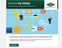 Newsletter Catho Me Disse | Catho