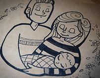 Illustration naissance