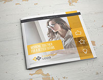 Multipurpose Business Square Brochure