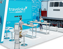 Booth Traveloka (unused)