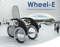 Wheel-E, airport indoor transportation