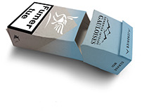 Rebrand of Gauloises made with new packaging