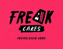 Freak Cakes (2017) – Brand Identity