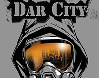 "COMICS ""DAR CITY"" - test pages."
