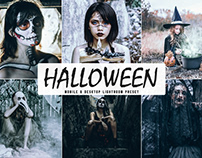 Free Halloween 2019 Mobile & Desktop Lightroom Preset