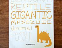 Thesaurus Poster Design
