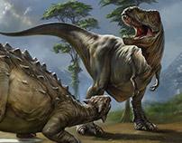 Ankylosaurus vs. Tyrannosaurus