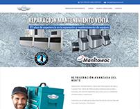 Ice machine maintenance website
