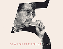 Slaughterhouse-Five, Kurt Vonnegut poster/book cover