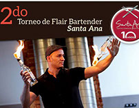 2do torneo de Flair Bartender Santa Ana